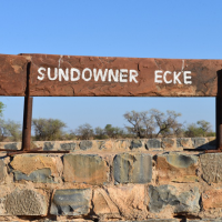 Sundowner Ecke (Our sundowner corner)