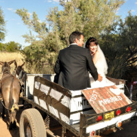 Just Married - Alte Kalkofen is a perfect wedding venue in Namibia