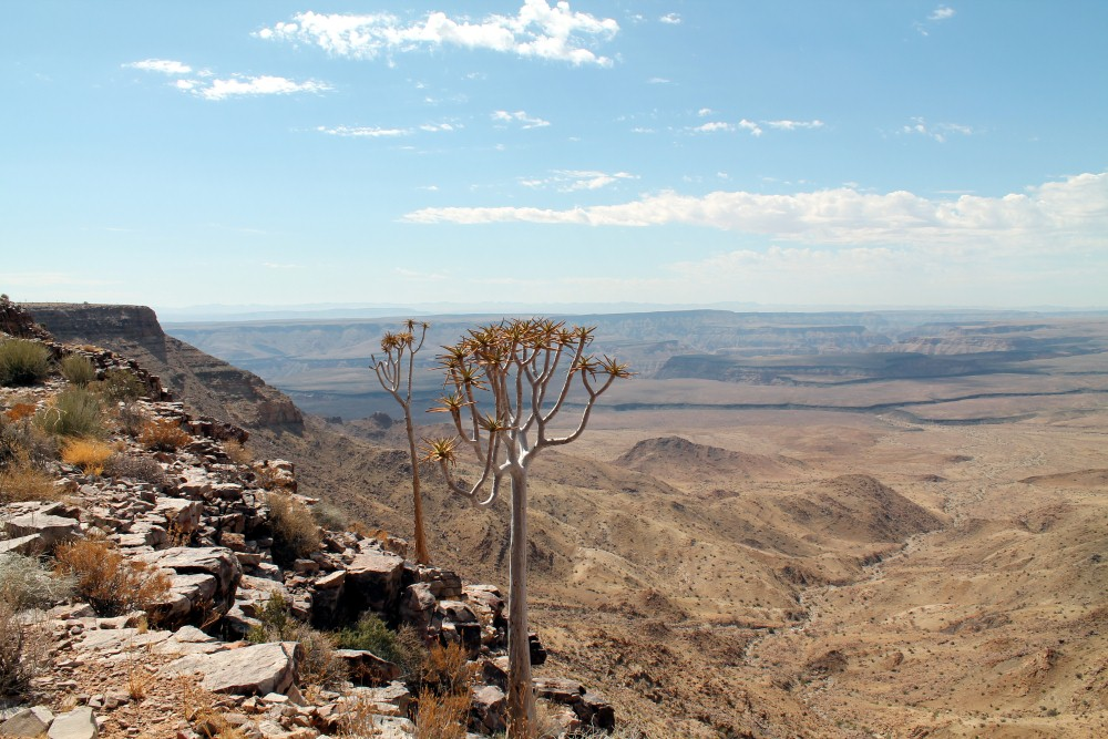 "Fish River Canyon, as part of your Namibia route planner ""must see"" attractions"