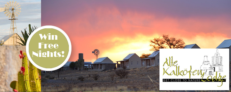 Win nights at Alte Kalkofen as part of your Namibia route planner